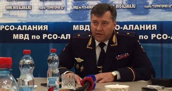Глава МВД Северной Осетии Михаил Скоков