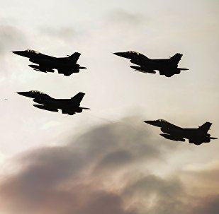 Истребители F16 турецких ВВС