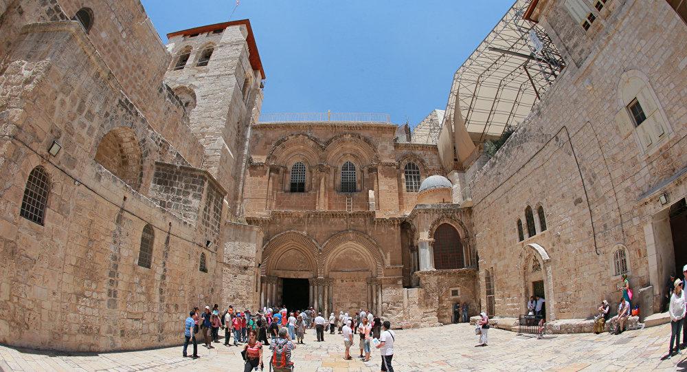 Гроб Господень вИерусалиме остался неповреждённым— Археологи
