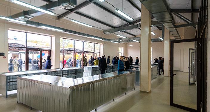 Открытие рынка в Цхинвале