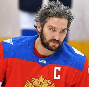 Нападающий хоккейного клуба Вашингтон Александр Овечкин