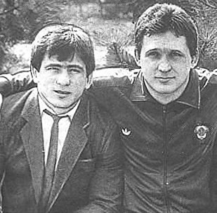 Аслан и Махарбек Хадарцевы вместе с Арсеном Фадзаевым