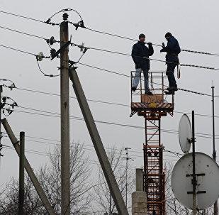 Ремонт линий электропередачи