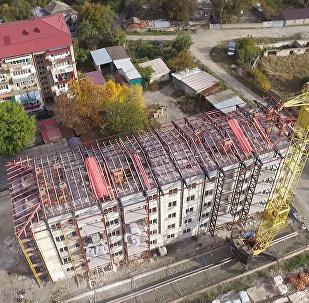 Стройка в Южной Осетии