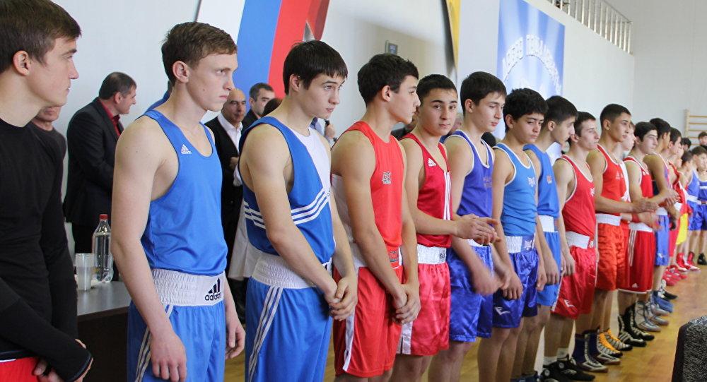 Боксы турнир Цхинвалы