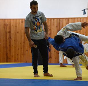Школа дзюдо в Знаурском районе РЮО