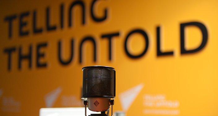 В студии радио Sputnik.