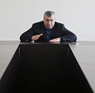 Экс-президент Южной Осетии Эдуард Кокойты