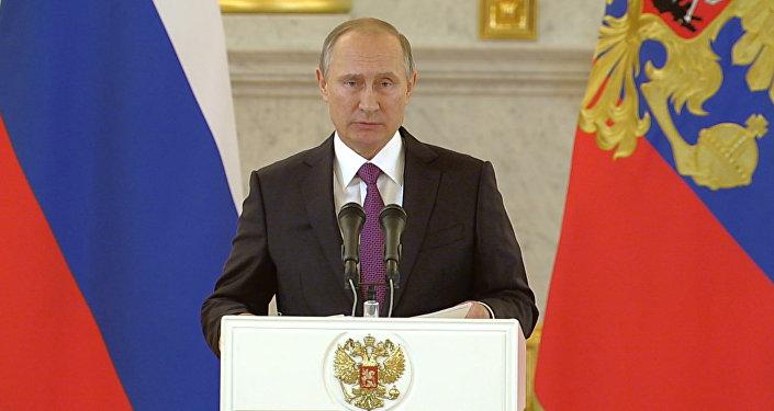 Путин поздравил американский народ и победившего Трампа с завершением выборов