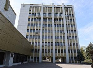 Здание правительства Южной Осетии