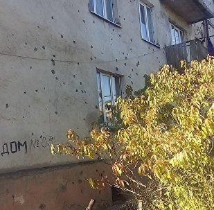 Дом в Цхинвале на улице Героев, 83