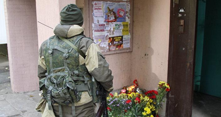 ВДонецке заубийство Моторолы задержаны шесть украинских националистов 1
