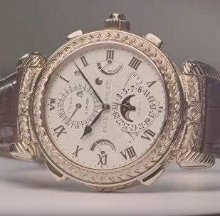 Создание сложнейших в мире наручных часов