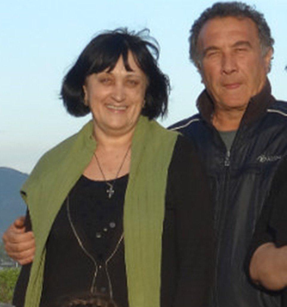 Супруги Валентина Тедеева и Геннадий Биченов