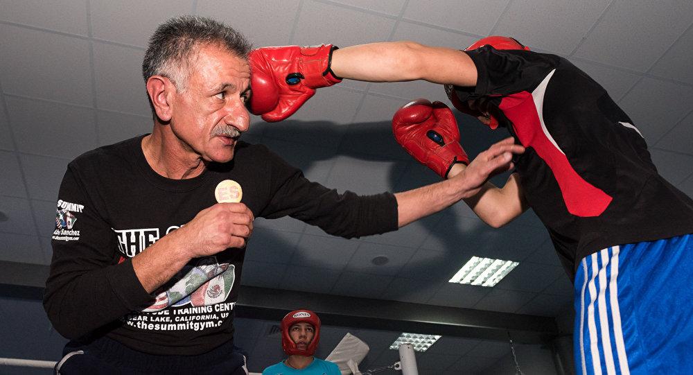 Тренер Алик Тедеев.