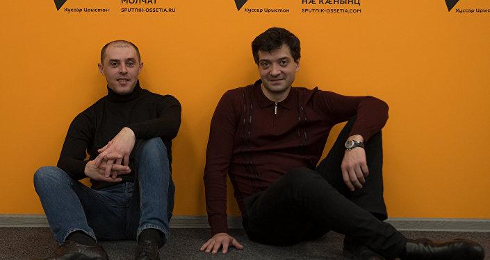 Аланы Касоев и Алан Догузов