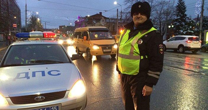 Работники ГИБДД Северной Осетии