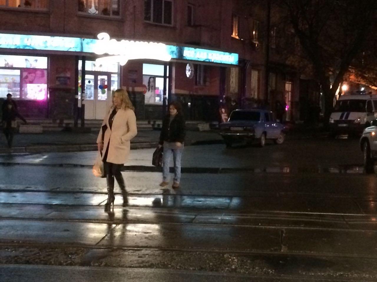 Пешеходы-нарушители