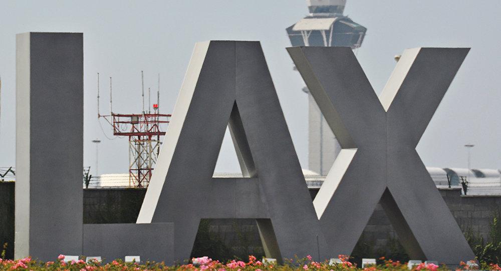 Международный аэропорт Лос-Анджелеса. США
