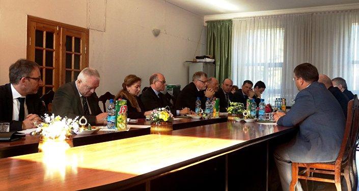 Встреча делегации Южной Осетии с сопредседателями женевских дискуссий