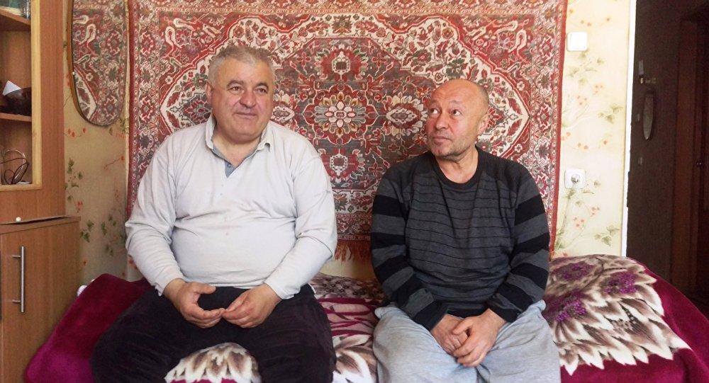 Владимир Дзуццаты (Коко) и Георгий Чельдиев (Гелди)