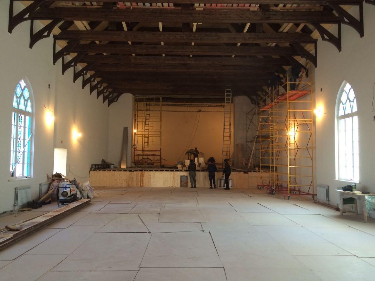 Строительство  филармонии во Владикавказе