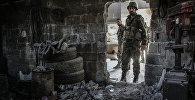 Бои в районе Барзе провинции Дамаск