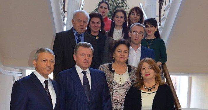 Визит Олега Белавенцева в Северную Осетию
