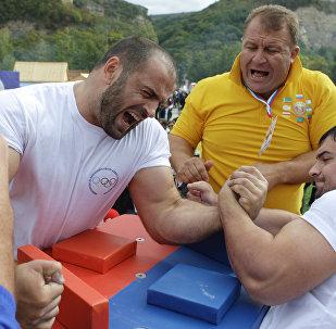 Спортивный фестиваль Кавказские игры - 2010