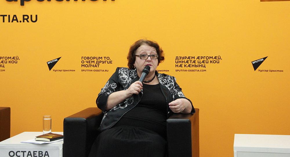 Пресс-конференция министра культуры Мадины Остаевой