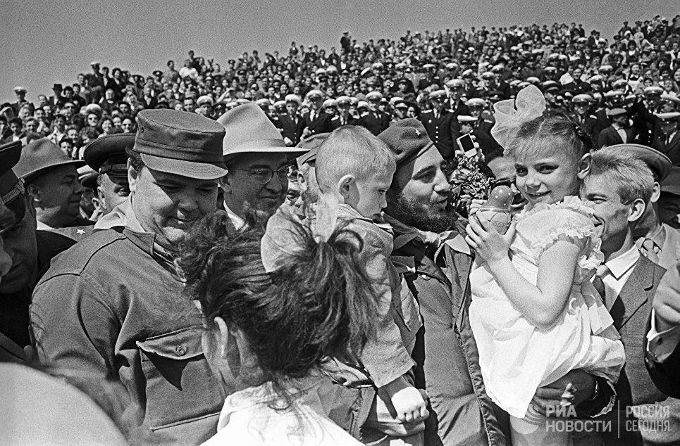 Визит в СССР Фиделя Кастро - лидера кубинской революции, Первого секретаря ЦК КП Кубы, Председателя Совета министров