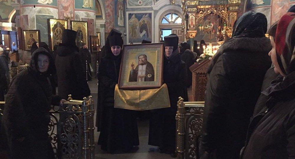 ВСеверную Осетию доставили мощи Серафима Саровского