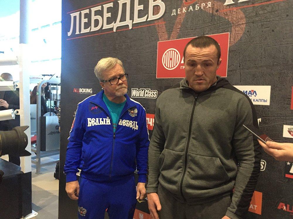 Денис Лебедев и Мурат Гассиев еще не общались вне ринга, но, по словам действующего чемпиона, у них будет еще время, но уже после боя.