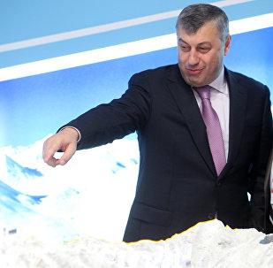 Экс президент Южной Осетии Эдуард Кокойты