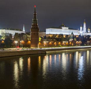 Московский Кремль и Москва река