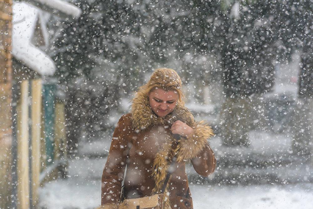 Главное – хорошо утеплиться, и тогда непогода не страшна.