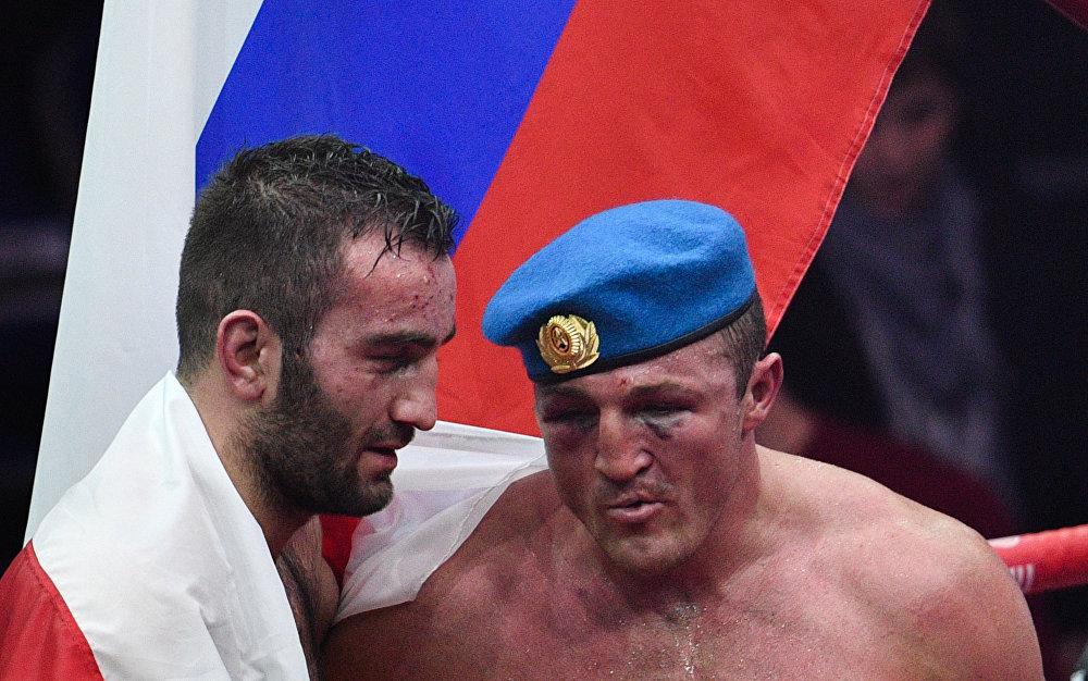 Это 24 победа из 24 боев, которые Гассиев провел на профессиональном ринге.