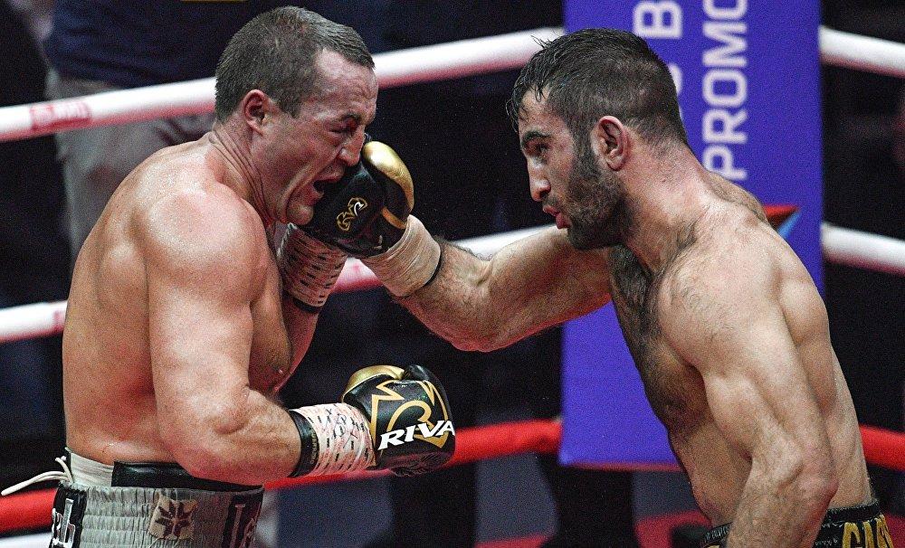 Бой за звание чемпиона продлился все 12 раундов.