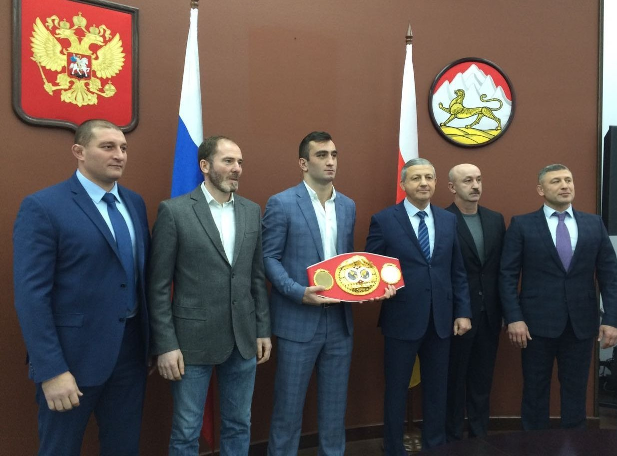 Вячеслав Битаров и Мурат Гассиев