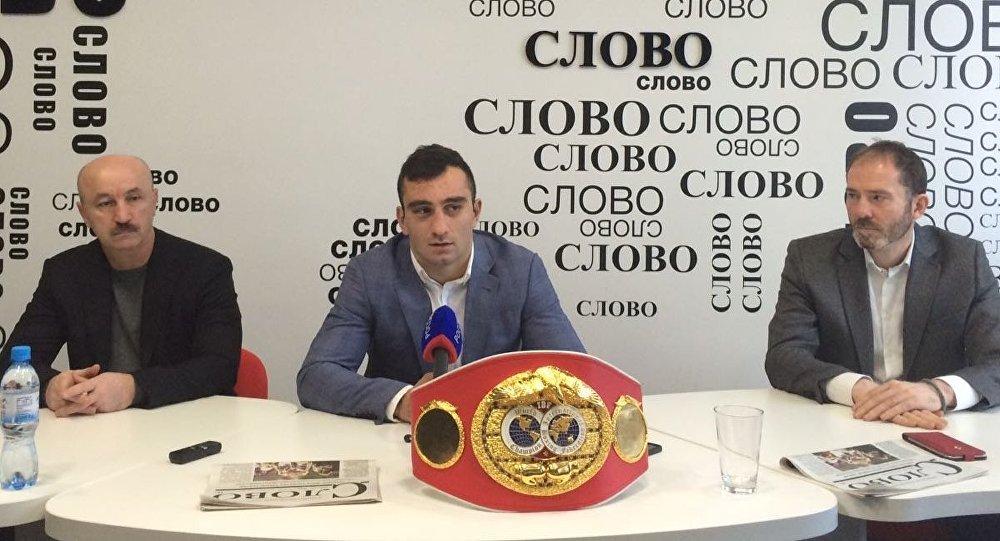 Пресс-конференция Гассиева, Сланова и Васильева