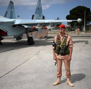 Авиабаза Хмеймим в Сирии