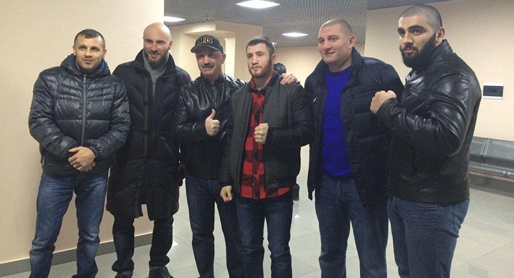 Георгия Челохсаева встречали в Беслане