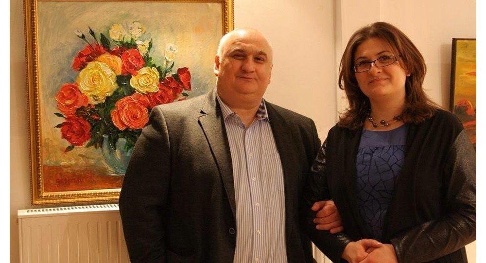 Радион Пухаев с супругой