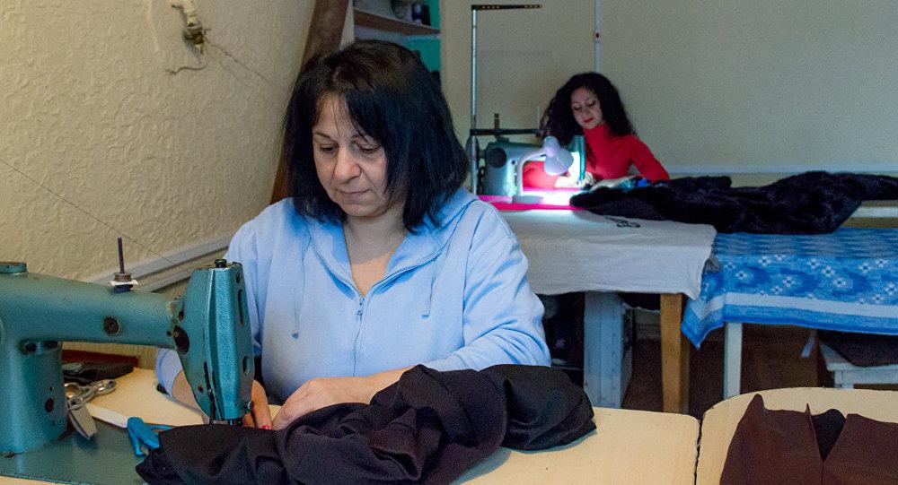 Семья армянских швей в Цхинвале