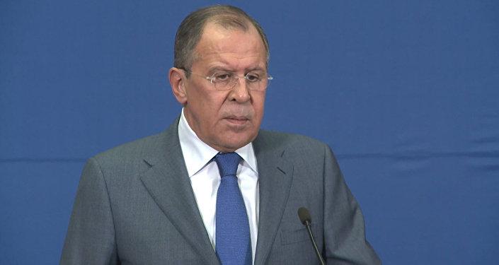 "Лавров высказал предположение о планах США на ""Джебхат ан-Нусру"" в Сирии"