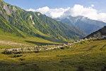 Селение Рук в Южной Осетии