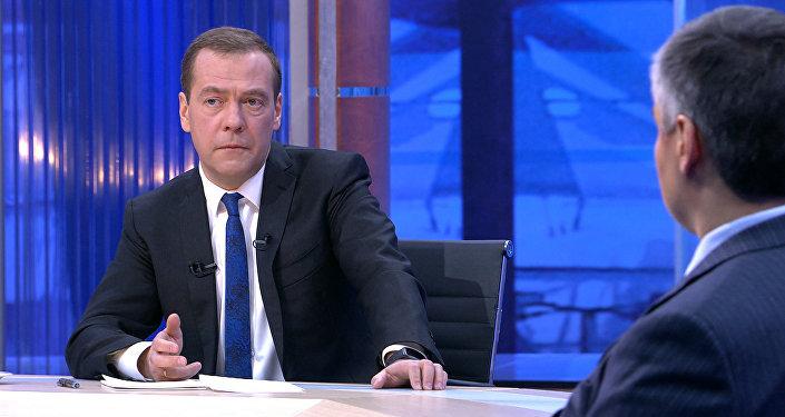 Дмитрий Медведев о Трампе, Тиллерсоне и взаимодействии с США