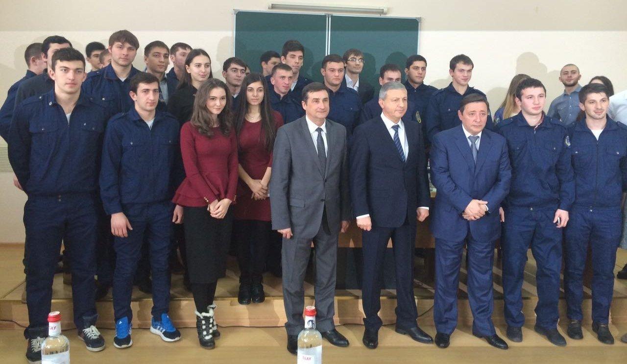 Встреча А.Хлопонина со студентами ГМИ