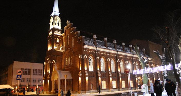 Здание государственной филармонии во Владикавказе