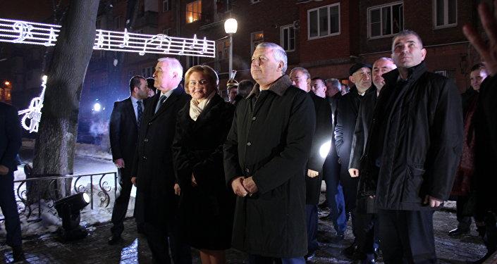 Открытие госфилармонии во Владикавказе